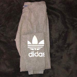 adidas gray leggings